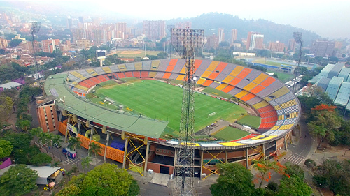 Photo: Estadio Atanasio Girardot – Medellín