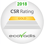 2017 EcoVadis Rating GOLD