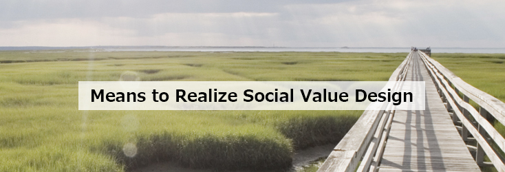 Means to Realize Social Value Design