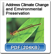 Address Climate Change and Emvironmental Preservation