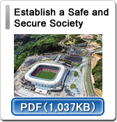 Establish a Safe and  Secure Society
