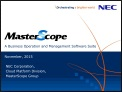 MasterScope Product Suite Presentation