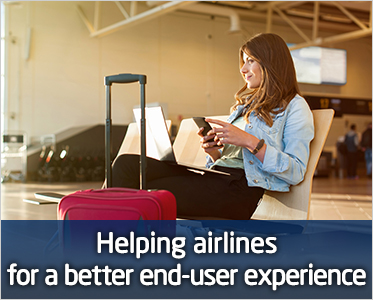 Helping airlines for a better end-user experience