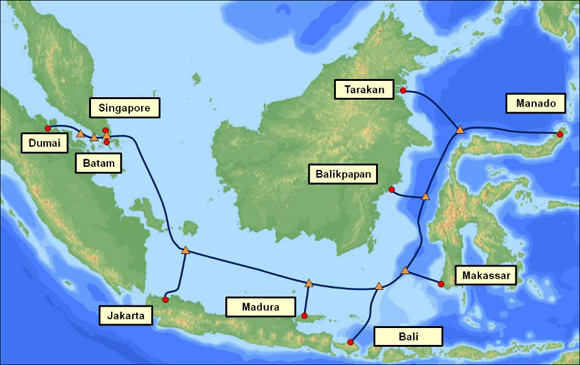 Ptkom selects nec to build the indonesia global gateway igg telkom selects nec to build the indonesia global gateway igg submarine cable press releases nec gumiabroncs Images