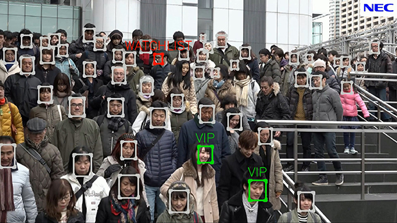 Nec S Video Face Recognition Technology Ranks First In