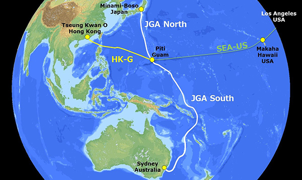 Construction begins on the Japan-Guam-Australia Cable System: Press