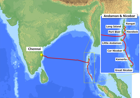 NEC to build submarine cable system between Chennai and the
